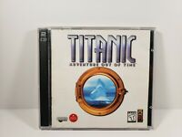 Titanic: Adventure Out Of Time PC 1996 2-Discs Game CD-ROM Windows & Macintosh