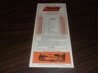 JUNE 1979 D&RGW DENVER & RIO GRANDE WESTERN PUBLIC TIMETABLE