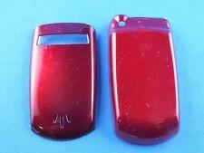 FÜR Motorola V60 Front Cover Oberschale Case Facade Akkudeckel Rot Handy Phone