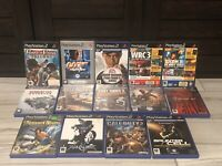 Bundle of 14 PAL Games Lot for the PlayStation 2 ****Near Mint****