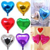 5PCS/Lot Love Heart Foil Helium Balloons Wedding Party Birthday Decor Romantic