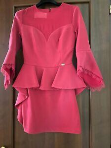 Vestito Elegante Corto Elisabetta Franchi Taglia 40