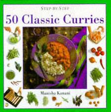 50 Classic Curries (Step-by-Step), Kanani, Manisha, Very Good Book