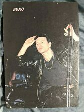 U2 / Bono Live / 1980'S Magazine Full Page Pinup Poster Clipping (7)