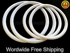 "Motorcycle WhiteWall Portawall ATLAS Slim 19"" Slim 17"" Tire insert Trim Set of 4"