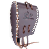 Handmade Leather Slip On Recoil Pad with Adjustable Lace Shoulder Protective USA