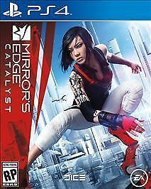 NEW (Sealed) MIRROR's EDGE Catalyst for PS4 Playstation 4 Mirrors Mirror EA