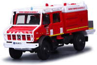 MERCEDES BENZ EMERGENCY VEHICLE 13 cm FIREFIGHTHER Model Toy Car Diecast