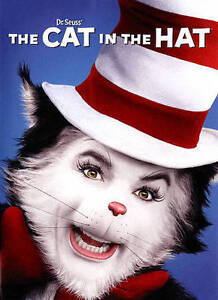 Dr. Seuss The Cat in the Hat (DVD, 2015) Mike Myers NEW Sealed
