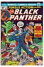 JUNGLE ACTION #9 (FN) BLACK PANTHER! 1st Baron Macabre Appearance! 1974 Marvel