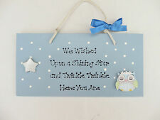 Baby Arrival Plaque - Wall Plaque - Baby Shower - New Baby - Wooden