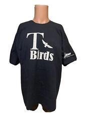 Vintage 90's Men's GREASE Movie T-BIRDS John Travolta Black Shirt Size XL