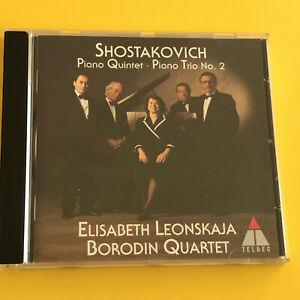 Shostakovich, Piano Quintet, Piano Trio No. 2, Borodin Quartet, Elisabeth Leonsk