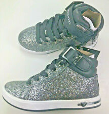 Skechers Street / Girls Youth / Shoutouts-Sparkle On Top / Black Hitop. NIB