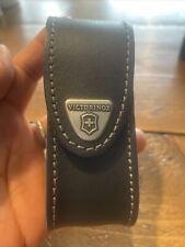Victorinox Swiss Army Leather Case Ex Display