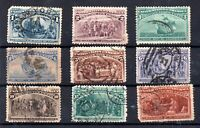 USA 1893 Columbus used collection to 30c WS15431