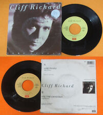 LP 45 7'' CLIFF RICHARD Some people One time lover man 1987 italy no cd mc dvd*
