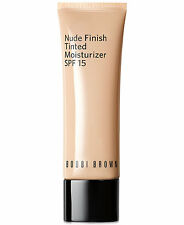 Bobbi Brown Nude Finish Tinted Moisturizer SPF15 Extra Light Tint -1.7 Oz / 50ml