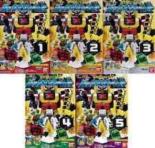 Bandai Doubutsu Sentai Zyuohger Zyuoh Wild Mini Model kit set of 5 set Candy Toy