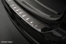 REAR BUMPER PROTECTOR for VW PASSAT B6 (4-door Saloon) 2005-2010 steel + carbon