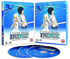 A Certain Magical Index Season 1 Blu-Ray NEW BLU-RAY (MANB8719)