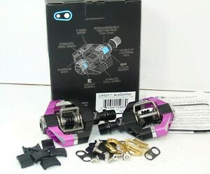 Genuine Crankbrothers Candy 7 Pedals, Black/Pink, Brand New In Box