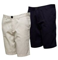 Boys French Connection Cotton Summer Chino Shorts Sizes Age from 7 to 14 Yrs