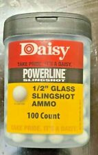 "NEW Daisy 1//2/"" Glass Slingshot Ammunition 8383"