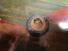 Vintage Joe Dimaggio Pinback Button Pin NY Yankees 1969~