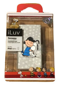 iLuv Peanuts Character Hardshell Case For iPod Nano Snoopy & Lucy-A27