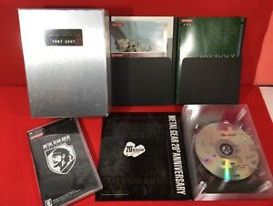 USED Metal Gear Solid Collection 20th Anniversary PS2 PSP BOXED JAPAN NTSC-J F/S