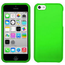 iPhone 5c 2pc Snap On Case Rubberized Hard Cover *USA SELLER*
