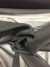 Power Mesh Net 2 Way Stretch Sheer Lycra Fabric Material 150cm Width