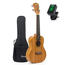 Kmise 23 Inch Concert Ukulele Ukelele Hawaii Hawaiian Guitar Zebrawood