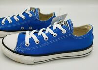 Converse Chuck Taylor OX Low Top Shoes Youth Electric Blue Kids Size 1