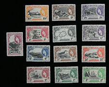 Set of 13 St. Helena Stamps Scott# 140-152 MLHOG - B2958 ES