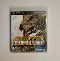 Jurassic The Hunted Sony Playstation 3 PS3 Activision 2009 (Complete In Box)