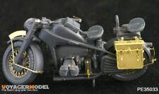 PE (basic set) for ZUNDAPP MOTO (For TAMIYA 35017/35283), 1:35, VOYAGERMODEL