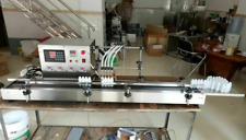 New Four Heads Liquid Filling Machine Full Automatic Filling 3L large flow sso