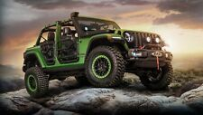 2018 JEEP WRANGLER UNLIMITED RUBICON Art Silk Wall Poster  - 24x36 inches