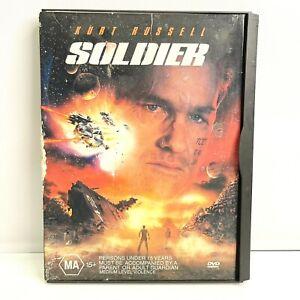 Soldier DVD 1998 Sci-Fi Movie Kurt Russell - RARE Snapcase Flip Cover Edition R4