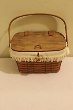 Longaberger 1988 Heartland Small Purse Basket - signed by Dave Longaberger