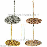 """24"""" 36"""" CHAIN FOR MI MILANO COIN/MONEDA/DISC HOLDER KEEPER PENDANT LOCKET CARRY"""