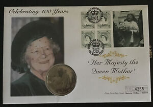 Gibraltar QEII 1999 queen Mother Crown Mercury Numbered FDC Pristine