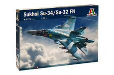 Italeri 1379 1/72 Scale Model Aircraft Kit Russian Sukhoi SU-34 Fullback/SU-32FN
