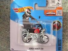 Motos miniatures noirs 1:64