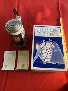 Star Wars 1998 Special Edition Ceramic Beer Stein Drew Struzan CUI Avon 02795