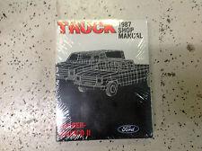1987 FORD RANGER & BRONCO II TRUCK Service Shop Repair Manual NEW FACTORY OEM X