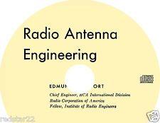 Radio Antenna Engineering -The  Classic,  Laport 1952 Book on CD