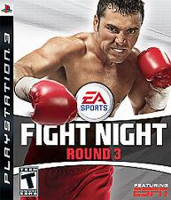 Fight Night Round 3 (Sony PlayStation 3, 2006)